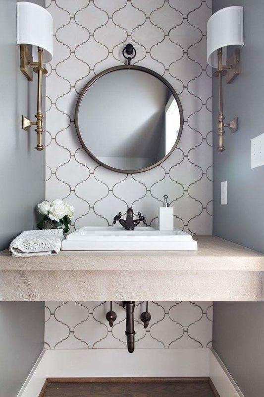 Great Ideas for Renovating a Small Bathroom - L' Essenziale on Great Bathroom Ideas  id=19397