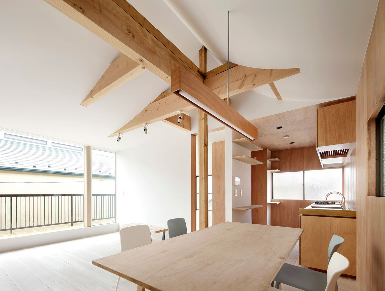 How to choose a comfortable home from laminated veneer lumber 70