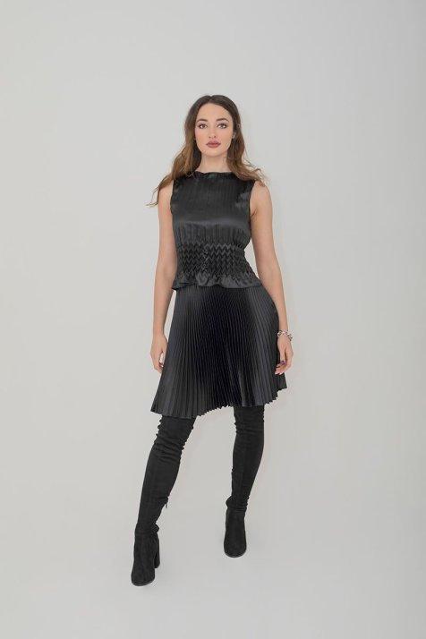 Suzie Skirt Black - Essere Vegano Vegan Clothing