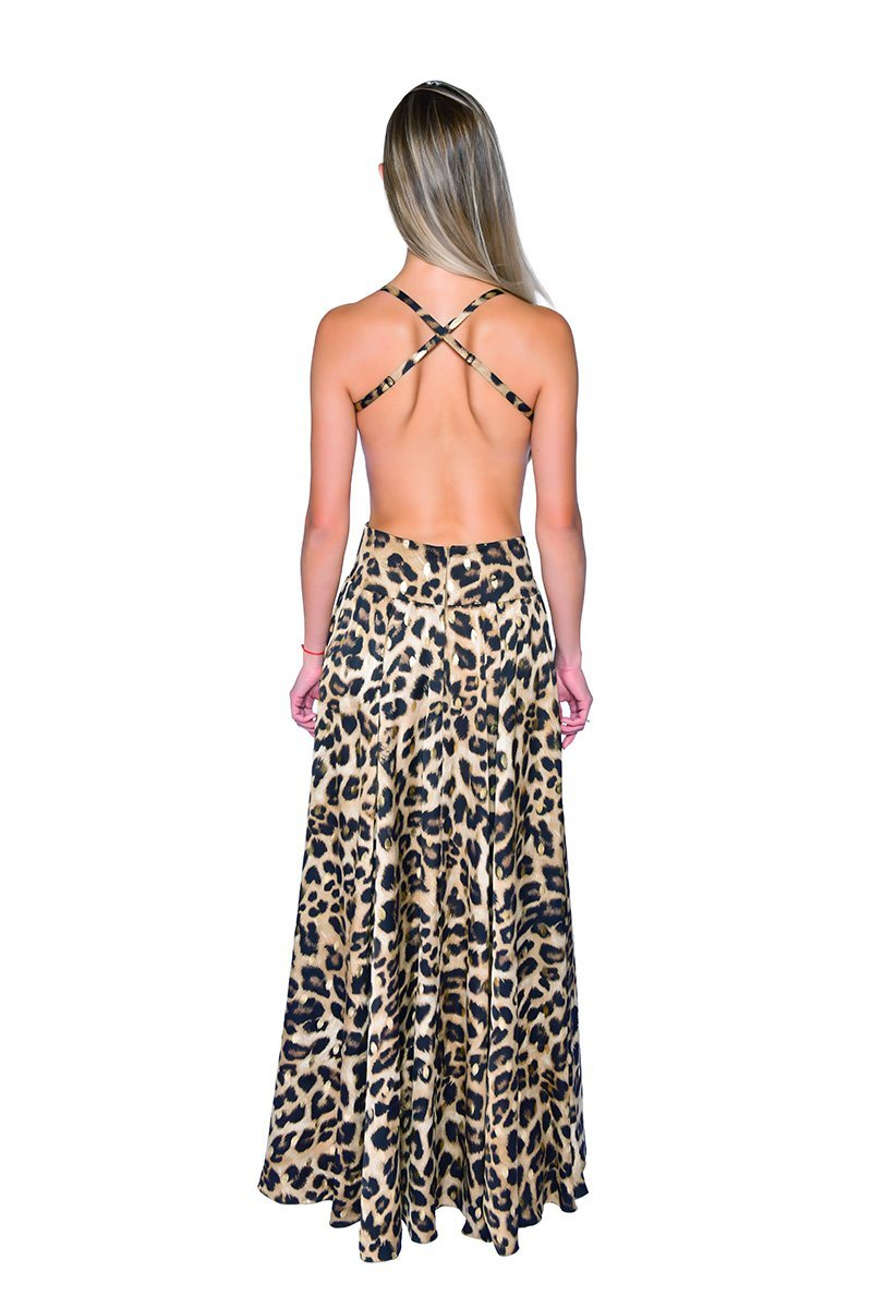 Nina Gown - Essere Vegano Vegan Clothing