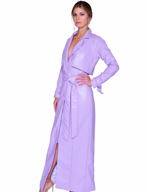 Matrixa Long Coat - Essere Vegano Vegan Clothing