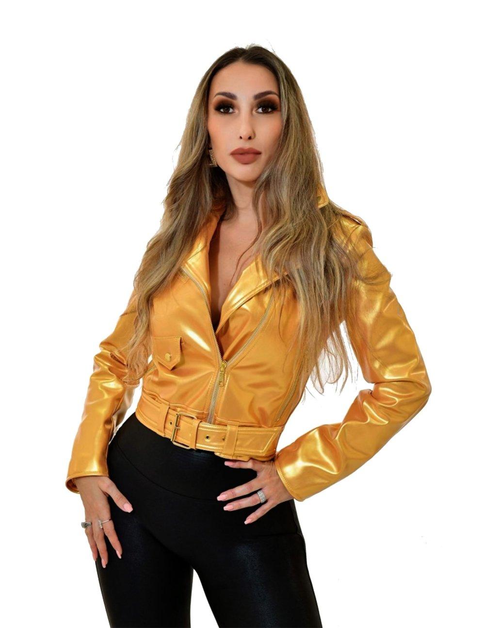 Katrina Biker Jacket - Essere Vegano Vegan Clothing