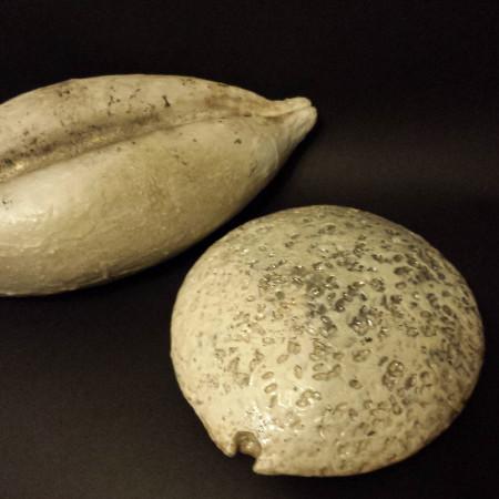 Semi - ceramica raku - piccolo e grande
