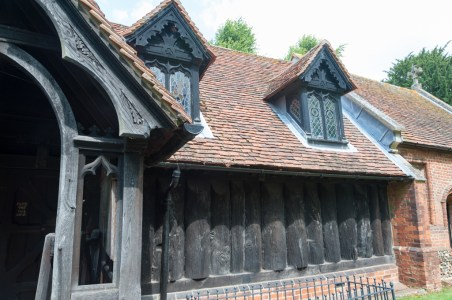 greensted, st andrew, essex, church