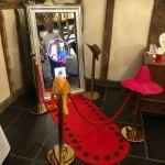 Magic Mirror from Essex Event setup