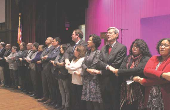 SOMA highlights nonviolence at MLK ceremony