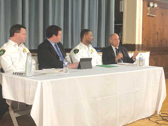 MPD addresses 'Force Report' at forum