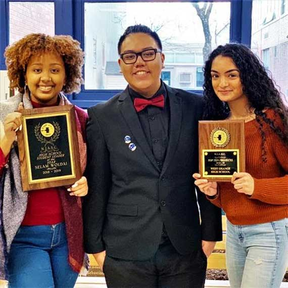 WOHS students receive awards at NJASC convention