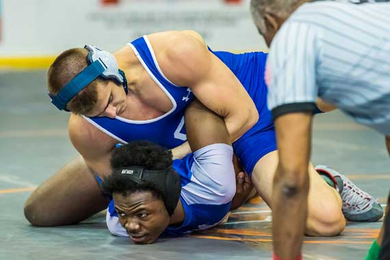 Seton Hall Prep wrestlers give good efforts at state finals in Atlantic City