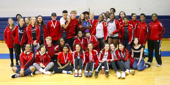 Columbia HS boys and girls fencing teams excel at District 5 tournament