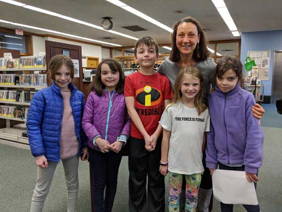 Grammar school students 'Speak Out' at library event