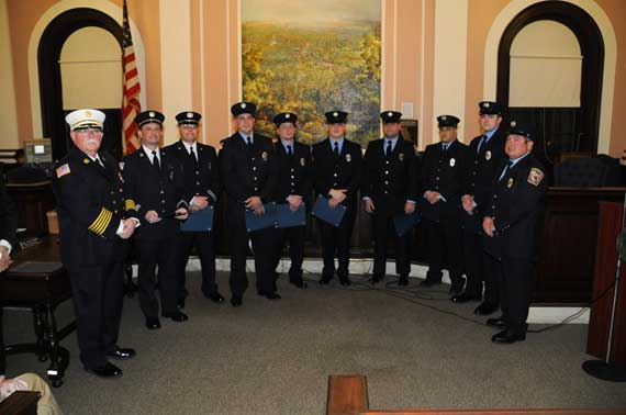 Maplewood firefighters receive awards recognizing their excellence