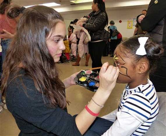West Orange Chinese students celebrate Chinese New Year at library