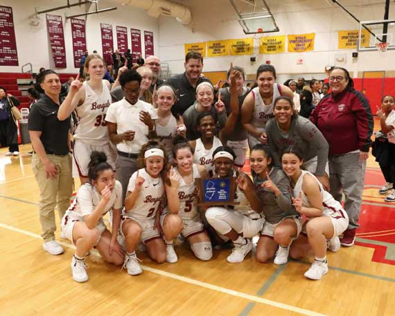 Bloomfield HS girls basketball team captures North 1, Group 4 state title