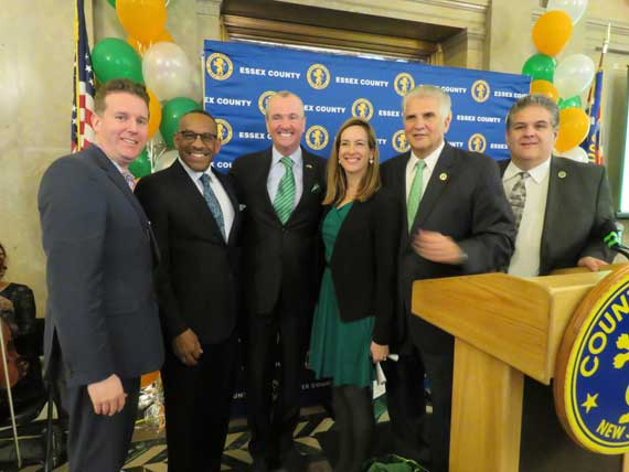County honors Murphy, Sherrill as Irish Persons of the Year