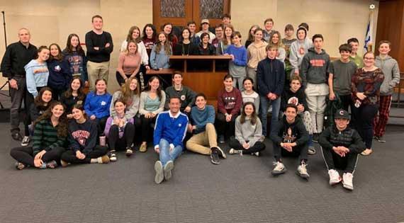 TSTI teens get 'Unorthodox' visit by podcast host