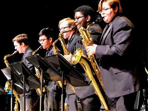District jazz concert swings at West Orange High School