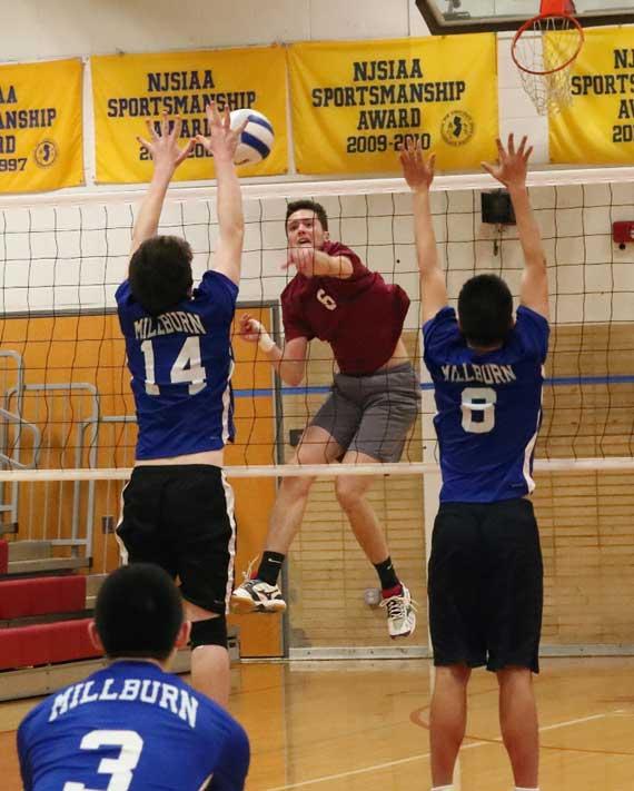 Bloomfield HS boys volleyball team prevails in season opener vs. Millburn