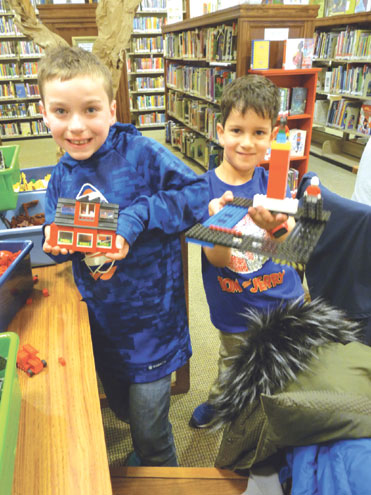 GR Library has fourth Lego Challenge Night