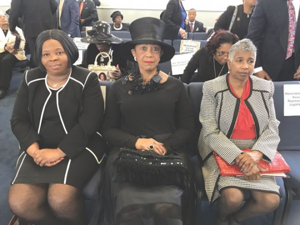 EO well-represented at councilwoman's funeral