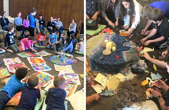 TSTI students take artistic journey through Passover