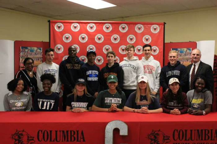 Columbia HS student-athletes sign with colleges