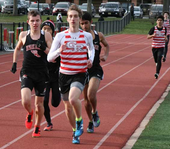 PHOTOS: Glen Ridge HS track and field teams compete at Newark Academy