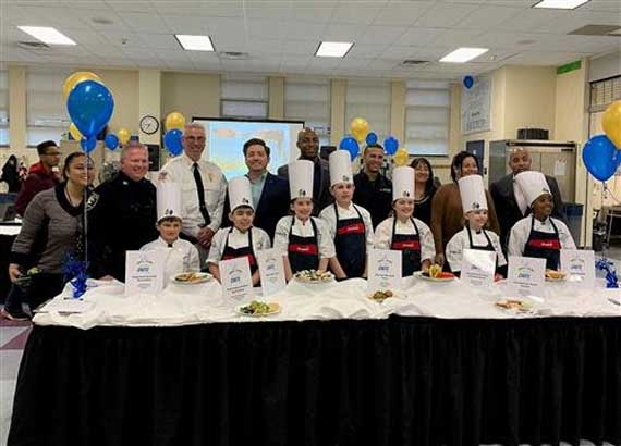 'Future Chef' Competition Held at Gregory Elementary School