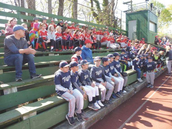 AA softball/baseball kick off their seasons