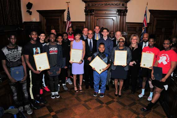Freeholders celebrate exceptional youth from Essex County