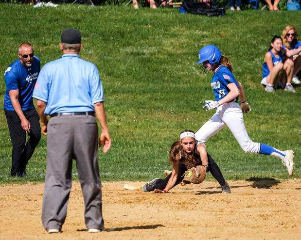 Columbia HS softball team finishes runner-up in North 2, Group 4 sectional tournament