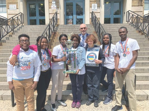 Irvington High School wins the 2019 State Consumer Bowl Championship