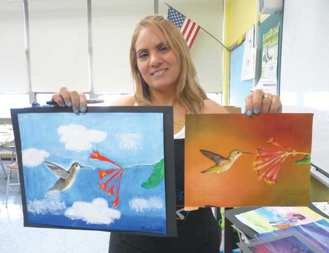 Students stay engaged at Bloomfield Summer Arts