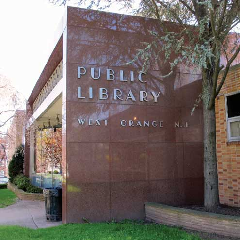 Friends book sale at West Orange Library