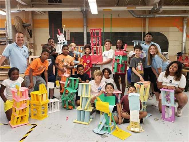 Engineering Explorations camp concludes 2nd year at WOHS