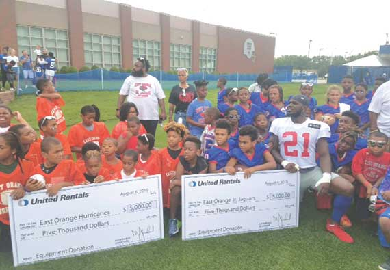 Jabrill Peppers gives back to hometown East Orange