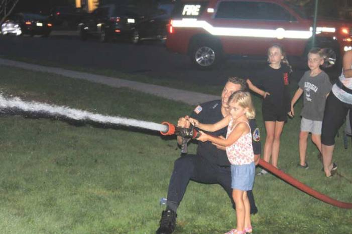 First responders take the spotlight at National Night Out