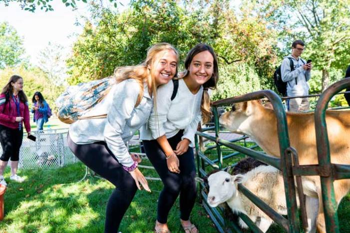 Seton Hall University begins academic year with first-day furry friends