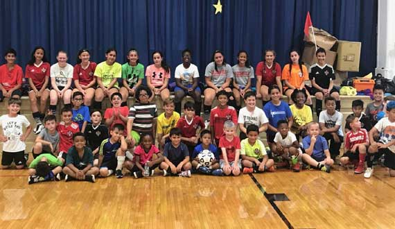 Bengals Soccer Camp features great turnouts, action