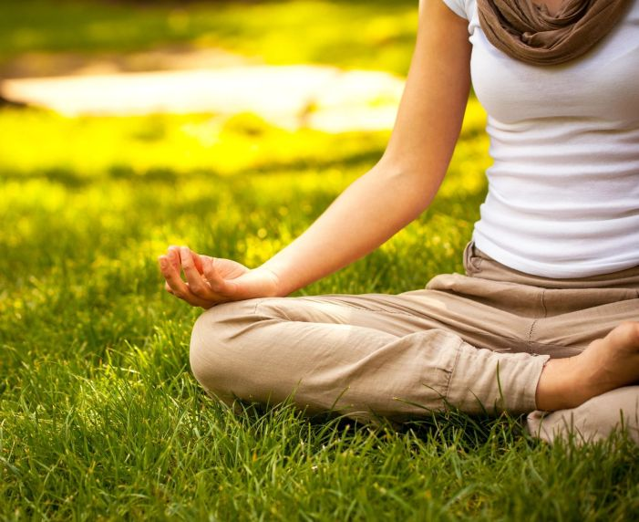 Find peace in the park at Maplewood Meditates