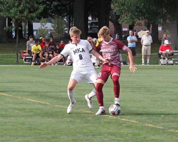 PHOTOS: Bloomfield HS boys soccer team falls to MKA in 2 OT