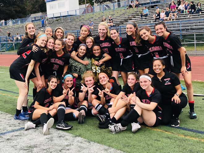 Columbia HS field hockey team enjoys great start to season, display strong camaraderie