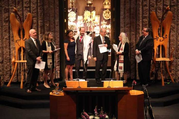 Senior Rabbi David Z. Vaisberg installed at TBA