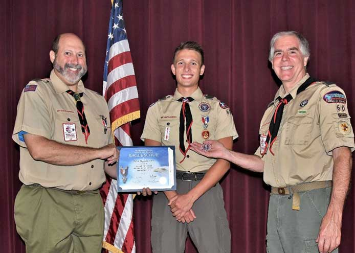 Jones earns Eagle Scout rank through project at Tuscan