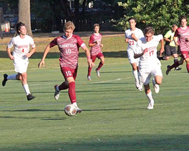 PHOTOS: Glen Ridge HS boys soccer team defeats Bloomfield, 3-2