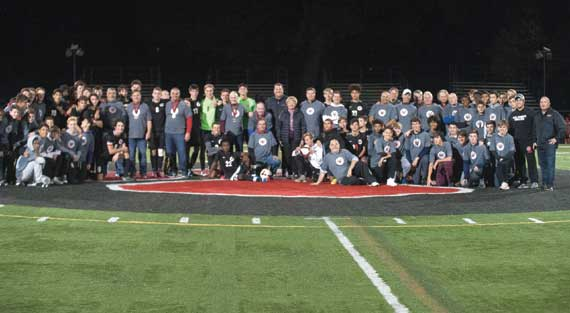 Columbia HS boys soccer team honors its state title teams of the past
