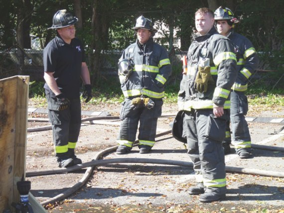 Bloomfield firefighters build skills and confidence