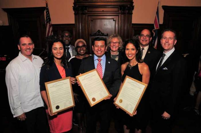 Freeholders celebrate Hispanic Heritage Month