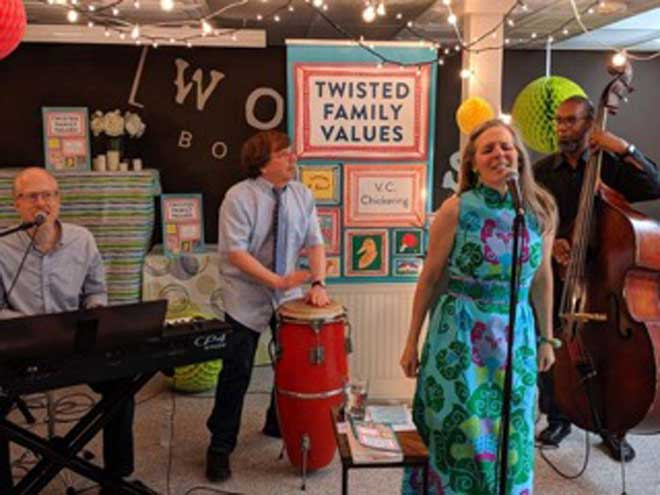 Tori Erstwhile & the Montys to appear at Maplewood Library