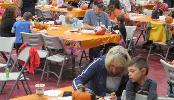 NUTLEY – Halloween Pumpkin Painting Party (October 2019)